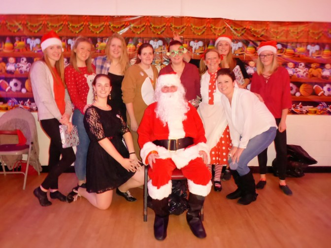 Christmas party in pictures