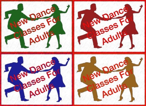 55111961 - illustration of a silhouette of a couple swing dancing